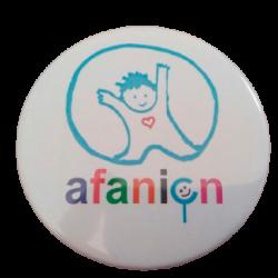 Imán logo afanion
